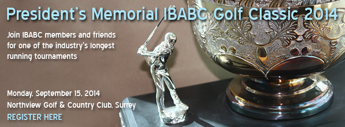 President's Memorial IBABC Golf Classic 2014 - Register Here
