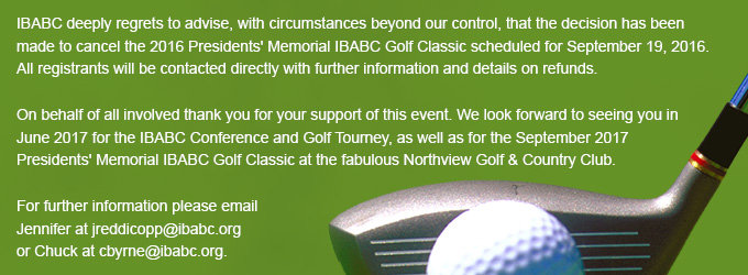 The Presidents' Memorial IBABC Golf Classic